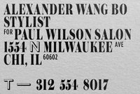 Paul Wilson Salon