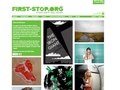 FIRST-STOP.ORG - PRESENTATION BOARD