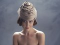 Gold Turban (Photo: Laura Gehring, Make-up and Hair, Naomi Rincon, Model, Kate Krog)