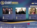 48th Grammy Awards - landing page