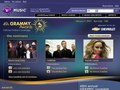 49th Grammy Awards - landing page