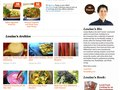 eHow Food - Chef Landing Page