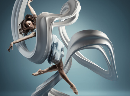 "Part of ""motion in air"" series. ALL CGi studio and sculpture"