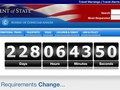 Passport Application, Deadline Reminder countdown counter
