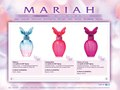 Mariah Carey Beauty Website - Collection Page