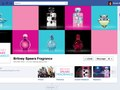Faceboook Page for Britney Spears Fragrance