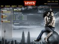 Levi&#39;s internal website design