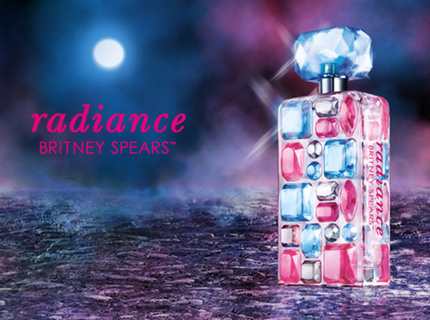 Faceboook Post for Britney Spears Fragrance