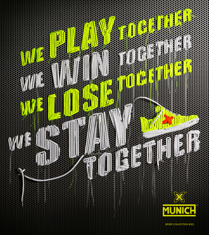 MUNICH Sports artwork by NYTT studio