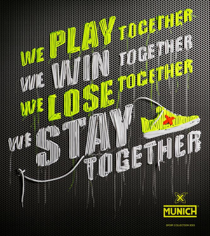 MUNICH Sports artwork by NYTT studio