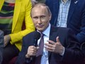 Президент Российской Федерации, лидер ОНФ, В.В. Путин, пленарное заседание медиафорума ОНФ, 2015, Санкт-Петербург