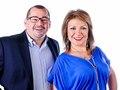 Diana Veronica Ramos y Tony Cabezas Presentadores de Noticias TCS y Canar 33