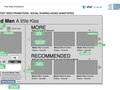 Wireframes (Post Video Social Sharing)