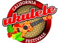 Logo for California Ukulele Festivals, a non-profit foundation