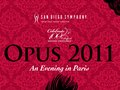2011 San Diego Symphony Opus Gala (Cover)