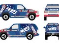 Re5 Energy Drink Street Team Vehicle Wrap Design