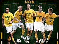 UAB 2010 Men's Soccer Poster