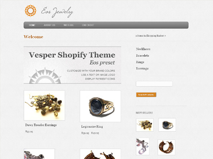 Eos Preset of Vesper Shopify Theme