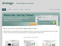 Archetype Shopify Theme