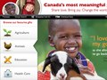 World Vision Gift Catalogue - Home Page ReDesign