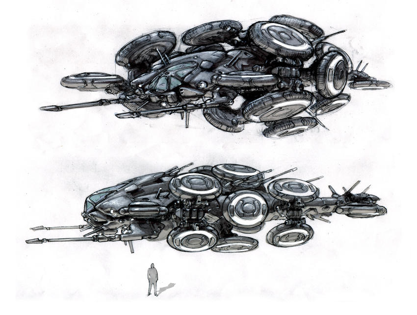 The gallery for --> Matrix Hovership