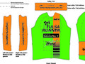 Tri Tulsa Runner Cycling Jersey Template