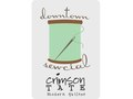 Crimson Tate&#39;s Downtown Sewcial Logo