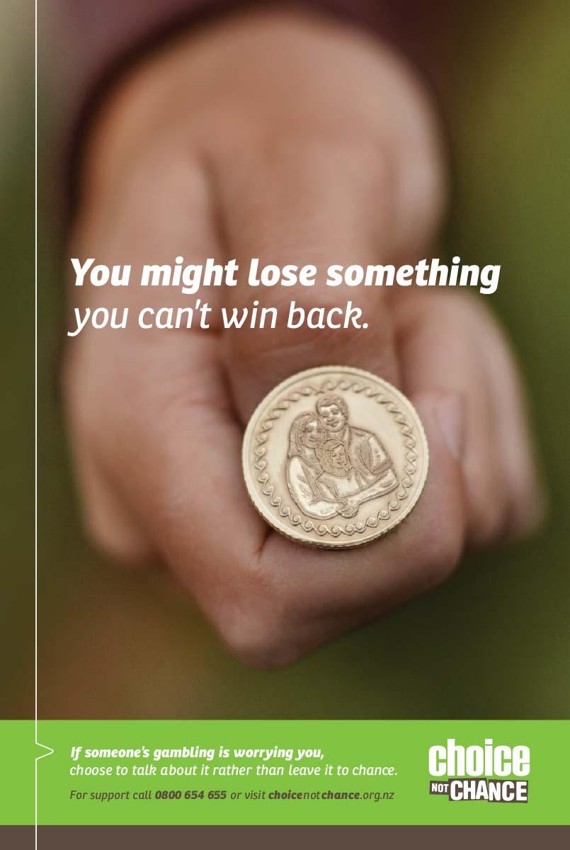 Anti-gambling campaigns on line gambling portal