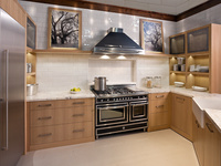 Cabinetry made from sustainable resources.