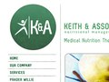 Keith &amp; Associates : Consulting Dietitians Website