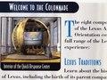 Lexus Associate Training Brochure: Side B: IEC 1998