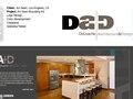 Deloache Architecture logo, print and web