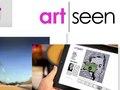 Art Seen logo, print and web