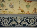 detail_Italian harpsichord decoration detail inside lid harpsichord decoration for  L'opéra Royal de Versailles
