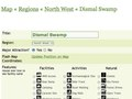 Map administration - updating details of a destination