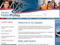 SenatorHelenPolley.com.au CMS implementation with design from Direct Design