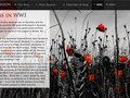 Detail pages with fullscreen background image slideshow