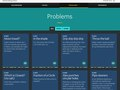 Student problems list