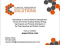 Clinical Research Solutions - 1/2 page ad