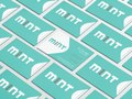 Mint Home Security Identity/Business Card