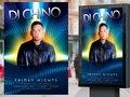 Company: Universal Orlando Resort / CityWalk • Assets: Outdoor Nightclub Poster  • Role: Graphic Designer, Illustrator, Photo Retoucher