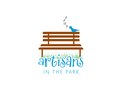 Logo for Artisans in the Park event