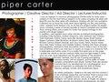 Piper Carter One Sheet