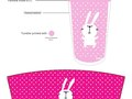 Straw Cup: Bunny