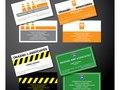 Business Cards for Okazaki & Associates, a transportation planning firm