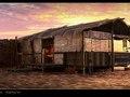 beach shack - SketchUp, Podium, Photoshop