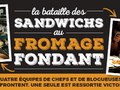 Kraft Heinz Foodservice Canada | Grilled Cheese Chef Battle Banner —French